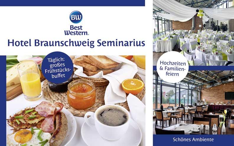 Best western hotel restaurant braunschweig seminarius for Design hotel braunschweig